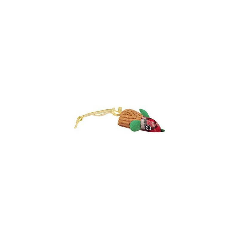 Flamingo spalvota pelytė - žaislas katėms