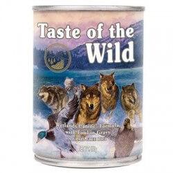 Taste of the Wild Wetlands begrūdžiai konservai su vištiena, antiena ir kalakutiena šunims