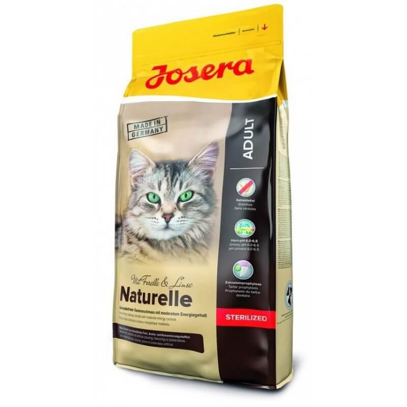 Josera Naturelle sausas maistas sterilizuotoms katėms