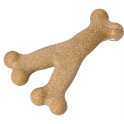 Ethical Products žaislas Y formos guminis su bambuko pluoštu šunims