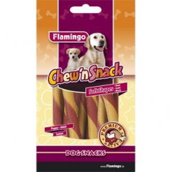 Flamingo kramtomos lazdelės – skanėstai su jautiena ir vištiena šunims
