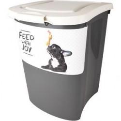 Flamingo Barrel sauso maisto laikymo dėžė šunims