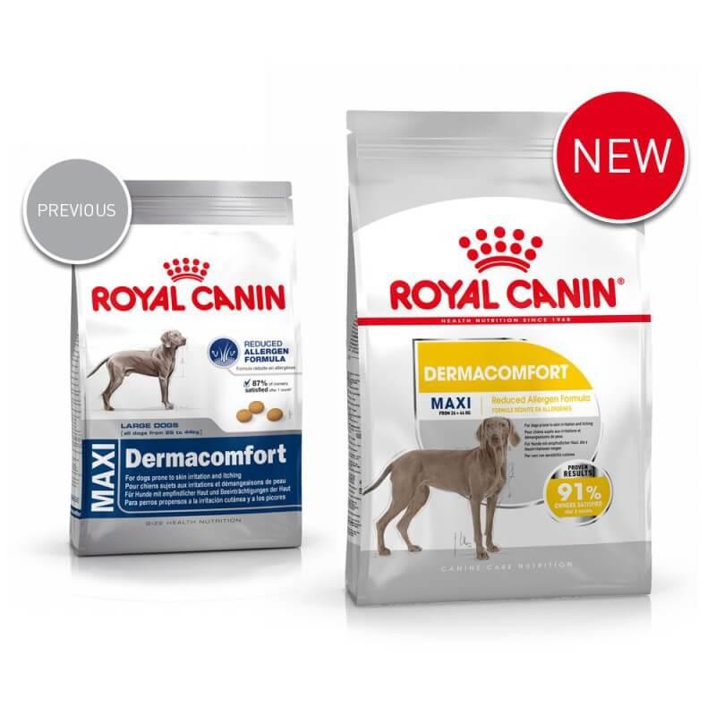Royal Canin Maxi Dermacomfort sausas maistas šunims