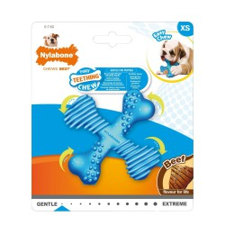 Nylabone Puppy kramtymo kauliukas su jautienos skoniu mažiems šuniukams