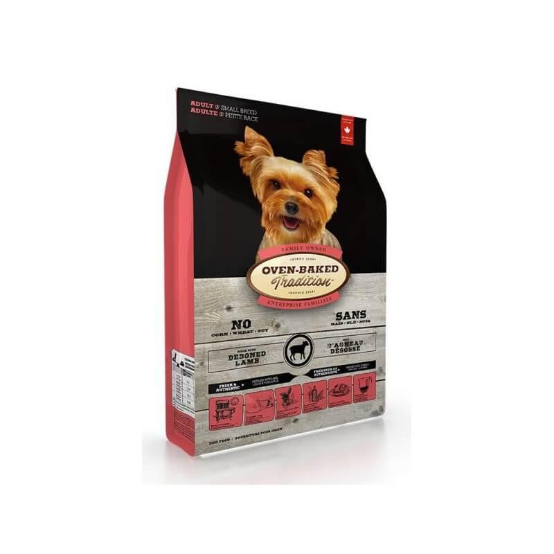 Oven Baked Tradition Adult Small Breed Lamb&Rice sausas maistas su aviena ir ryžiais mažų veislių šunims