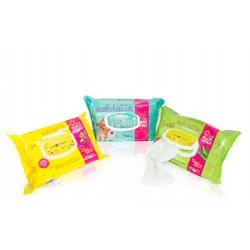 Farm Company drėgnos servetėlės su alaviju ir talko kvapu naminių gyvūnų letenėlių ir kailio valymui