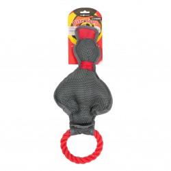 Farm Company X-Strong Duck with Rope žaislas šunims