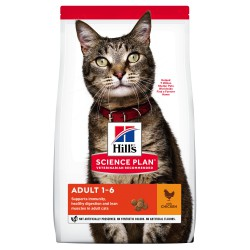 Hill's Science Plan Feline Adult Optimal Care Chicken sausas