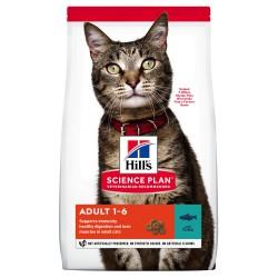 Hill's Science Plan Feline Adult Optimal Care Tuna sausas