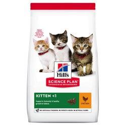 Hill's Science Plan Feline Kitten Chicken sausas maistas