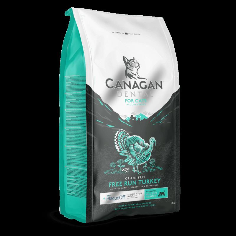 Canagan Cat Dental sausas maistas su kalakutiena katėms
