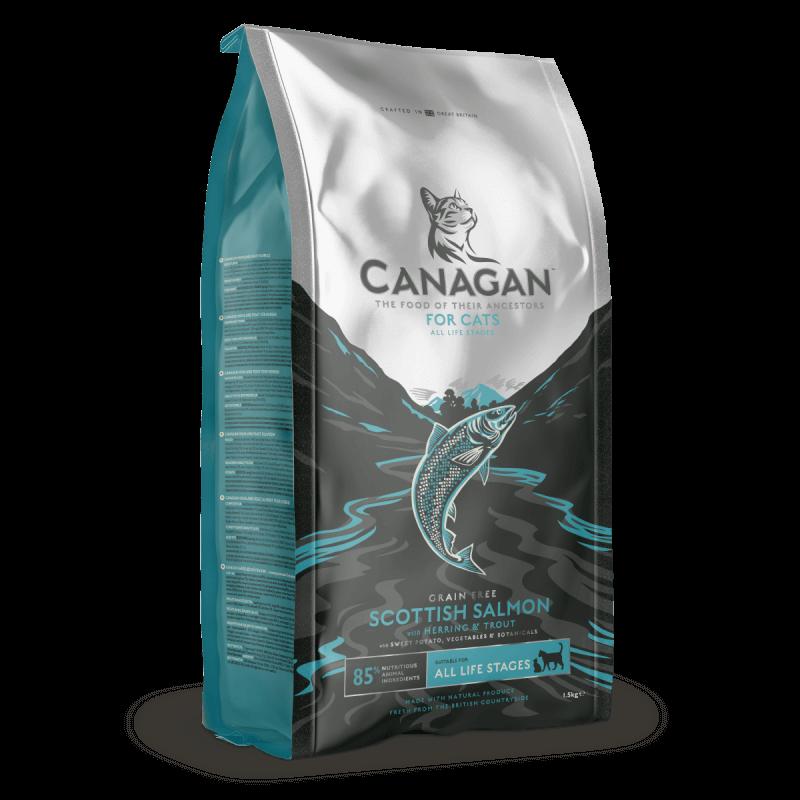 Canagan Scottish Salmon sausas maistas katėms