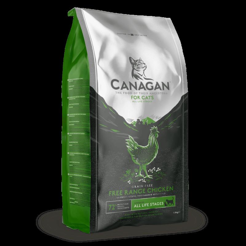 Canagan Free Run Chicken sausas maistas katėms
