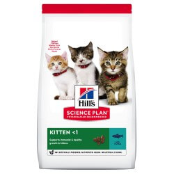 Hill's Science Plan Feline Kitten Tuna sausas maistas kačiukams
