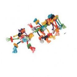 Flamingo Beads žaislas paukščiams