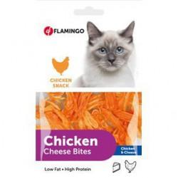 Flamingo vištienos ir sūrio skanėstai katėms