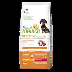 Natural Trainer Puppy & Junior Mini No Gluten Duck Rice Oil