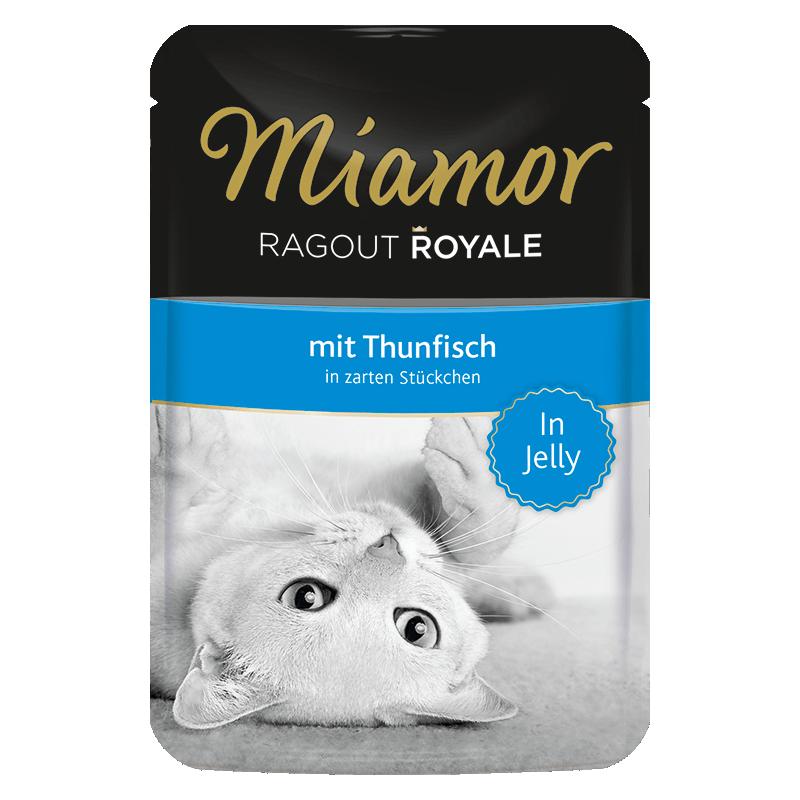 Miamor Royale In Jelly konservai su tunu katėms