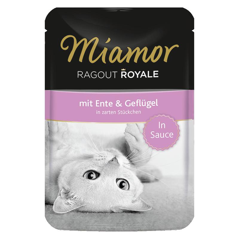 Miamor Royale In Sauce konservai su antiena ir paukštiena katėms