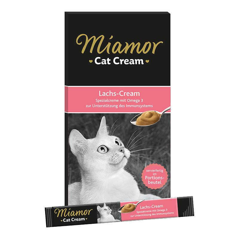 Miamor Cream skanėstai su lašiša katėms