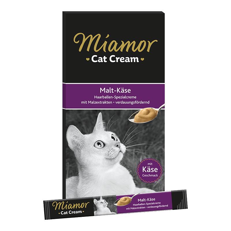 Miamor Cream skanėstai su salyku ir sūriu katėms