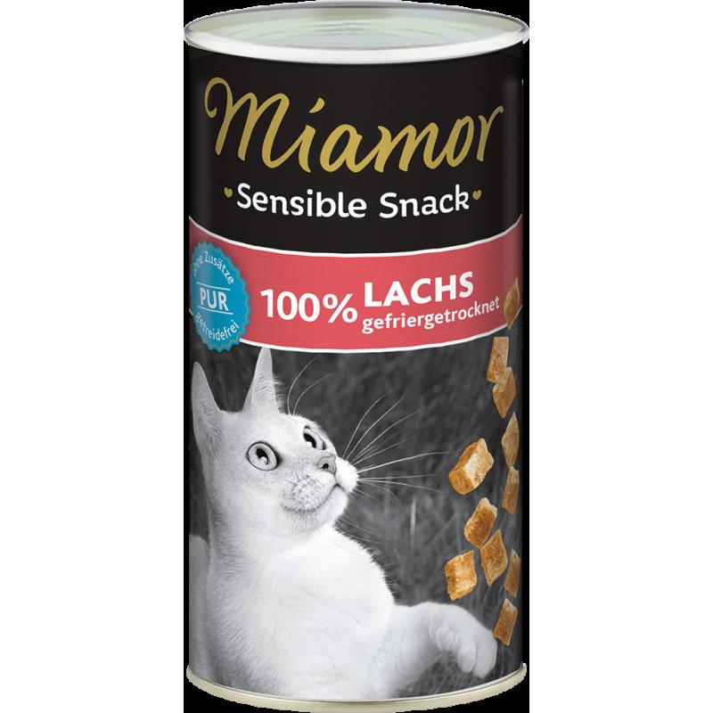 Miamor Sensible skanėstai su lašiša katėms
