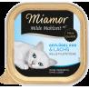 Miamor Milde konservai su paukštiena ir lašiša vyresnio amžiaus katėms