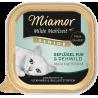 Miamor Milde konservai su paukštiena ir elniena vyresnio amžiaus katėms