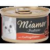 Miamor paštetas su vištų kepenimis katėms