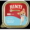 Rinti Gold Mini konservai su putpeliena ir paukštiena šunims