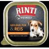 Rinti Feinest konservai su paukštiena ir ryžiais šunims