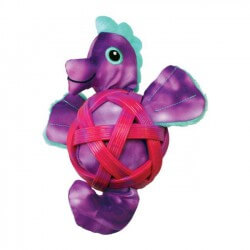 Kong Shells jūros arkliukas žaislas šunims