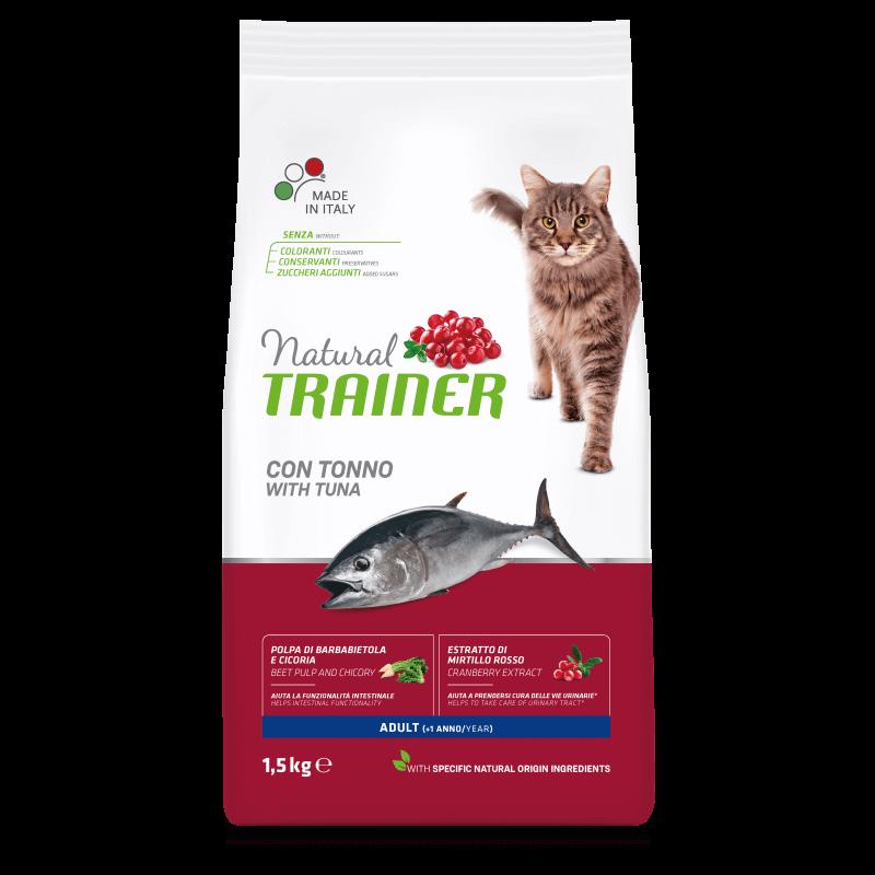 Trainer Natural Adult Cat with Tuna sausas maistas su tunu
