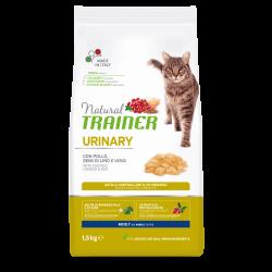 Natural Trainer Cat Adult Urinary Chicken sausas maistas su vištiena katėms