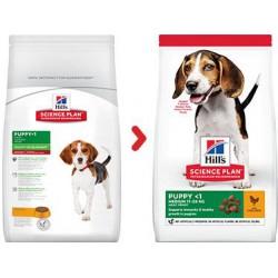 Hill's Science Plan Puppy Chicken sausas maistas šuniukams