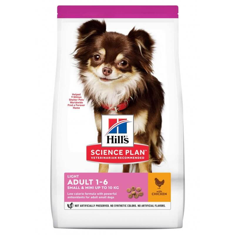 Hill's Science Plan Canine Adult Small & Miniature Light