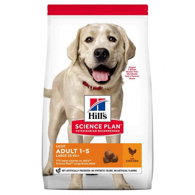 Hill's Science Plan Canine Light Adult Large Breed Chicken