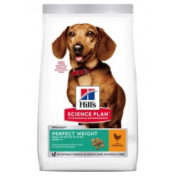Hill's Science Plan Canine Adult Perfect Weight Mini Chicken