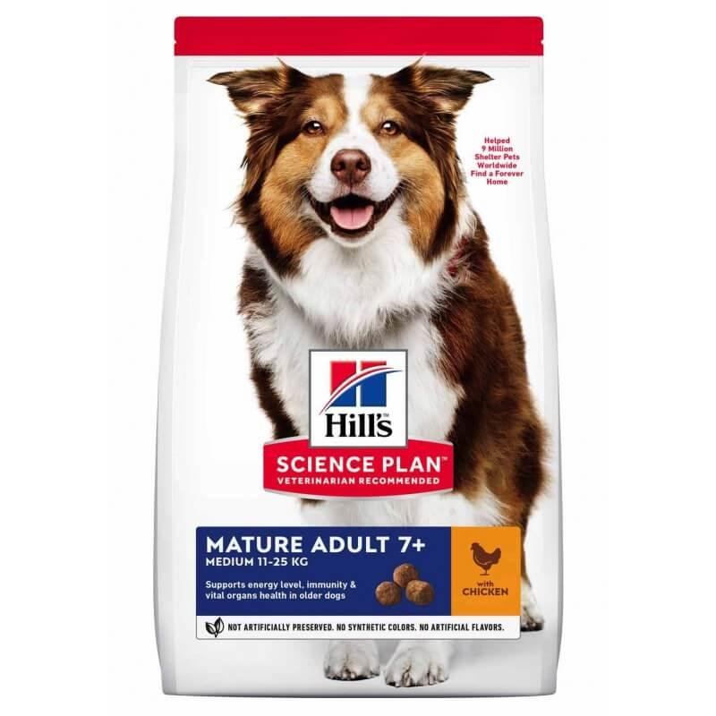 Hill's SP Canine Senior Chicken sausas maista šunims
