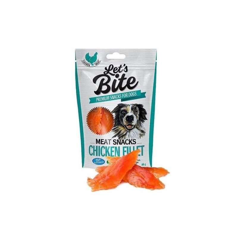 Brit Care Let's Bite Chicken Breast skanėstai šunims