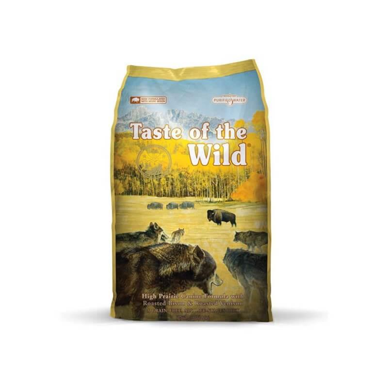 Taste of the Wild High Prairie sausas maistas šunims