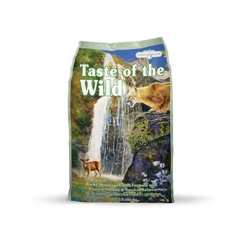 Taste of the Wild Rocky Mountain sausas maistas katėms