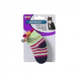 Ethical Products žaislas kojinė su katžole ir varpeliu katėms