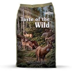 Taste of the Wild Pine Forest sausas maistas šunims