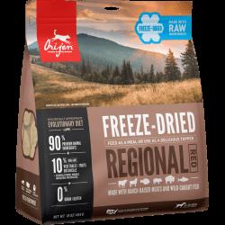 Orijen Regional Red išdžiovintas šaltyje sausas maistas šunims