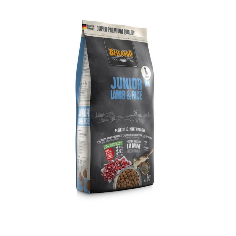 Belcando Junior Lamb & Rice sausas maistas su ėriena jauniems šunims