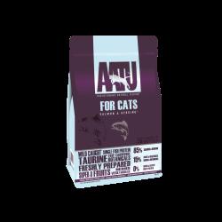 AATU sausas maistas 85/15 su lašiša ir silke katėms