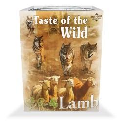 Taste of the Wild Lamb begrūdžiai konservai su ėriena, vištiena, vaisiais bei daržovėmis šunims