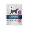 Quattro visavertis sausas pašaras su daug paukštienos suaugusioms sterilizuotoms katėms