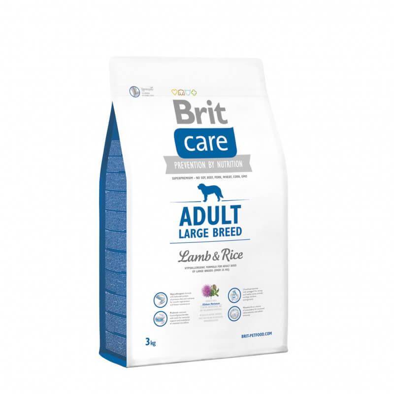 Brit Care Adult Large Breed Lamb & Rice sausas maistas šunims